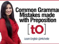 Common English Grammar Mistakes with Prepositions | Using 'to'