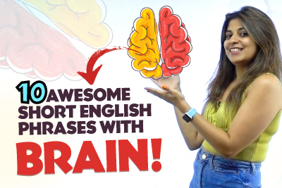 10 😍 AWESOME SHORT PHRASES With BRAIN 🧠 For Everyday Conversations.