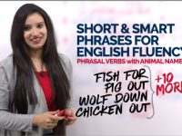 Short & Smart Phrases to Speak Fluent English – Phrasal Verbs with Animal Names
