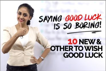 10 Other Ways to Wish GOOD LUCK | Learn English Phrases to Speak Fluently
