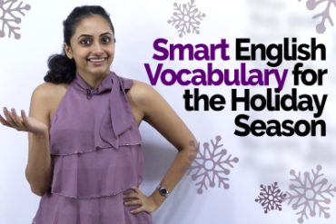 Learn Smart English Vocabulary for the Holiday Season