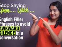 Learn English Filler Phrases to Avoid Awkward Silence in a Conversation.