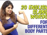 Learn English Slang Words & Phrases for Different Body Parts | Informal Vocabulary