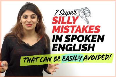 7 Common Mistakes In Spoken English 🙈 That Can Be Easily Avoided | Errors In English Speaking
