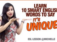 Learn Advanced English Words To Replace 'UNIQUE' – English Vocabulary Lesson