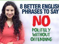 8 Better English Phrases To Say 'NO' Politely – Polite English Phrases