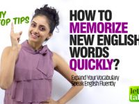 How To Memorise New English Vocabulary Quickly?