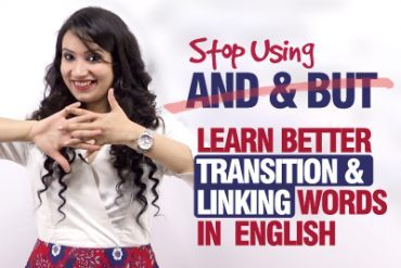 Stop Using AND & BUT – Learn Better Transition & Linking Words