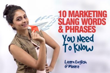 10 Marketing Slang English Words Everyone Should Know.