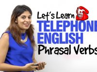 Telephone English Phrasal Verbs | Speak English Fluently At Workplace