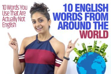 10 English Words That Are Actually Not English | Improve Your English Vocabulary