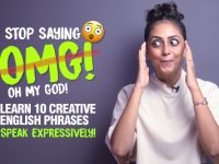 Learn 10 Creative Ways To Say OMG! 😱😵 in English.