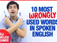 10 WRONGLY Used Words & Expressions In Spoken English 😱