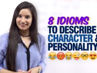 8 English Idioms To Describe Personality & Character 😂😭😈👻