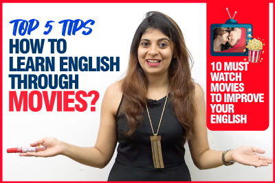 Top 5 Tips - How To Learn English Through Movies. 🍿Improve Your English | Speak Fluently & Confidently | Niharika