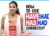 How to use 'Have Had' and 'Has Had' correctly in English Grammar?