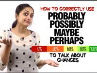 How to usePROBABLY, POSSIBLY, MAYBE, PERHAPS To Talk About Chances In English? Confusing English Words
