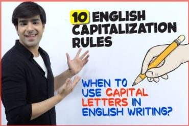 10 Rules Of Capitalisation | When To Use Capital Letters In English Writing | English Grammar Lesson