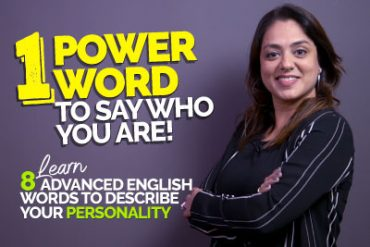 Describe Your Personality With One Powerful English Word | Advanced English Vocabulary