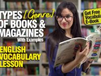 Types (Genre) of Books & Magazines We Read – English Vocabulary Lesson