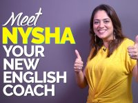 Learn English With Nysha – Your New Spoken English Coach | Stay Tuned For Amazing English Lessons