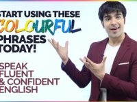 Start Using These Colourful English Phrases Today To Speak Fluently & Confidently