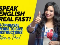 How To Learn English Real Fast And Easy? | 40 Phrasal Verbs For Giving Instructions Like A Pro!
