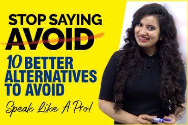 Stop Saying AVOID | Learn 10 Better Alternatives | Speak English Like A Pro! |