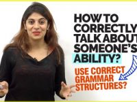 Learn Correct English Grammar Structures To Describe Someone's Ability