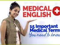 English Medical Vocabulary – Important Medical Terms Your Should Now