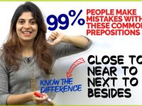 English Prepositions – Next to, Near to, Close To, Besides | Common Grammar Mistakes
