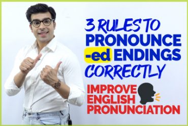 Commonly Mispronounced English Words Ending in -ed (Past tense verbs)