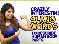 Crazily Interesting Slang Words To Talk About Body Parts | Informal English Conversation