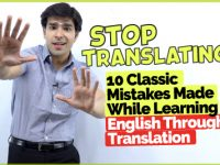 Stop Translating In English | 10 Classic English Made While Speaking English Through Translation