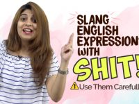 Slang English Expressions & Words With 'SHIT' | ⚠️ Use Them Carefully