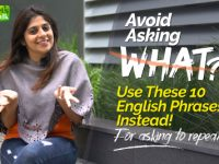 Avoid Asking 'What' | Learn 10 Polite English Phrases Instead!