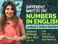 Different Ways To Say Numbers in English | Birthday, Years, Telephone, Dates