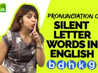 Pronunciation Of Silent Letter Words In English | Improve English Pronunciation