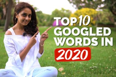 Most Searched Words on GOOGLE in 2020.