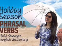 English Phrasal Verbs For Holiday Season | Improve English Vocabulary |