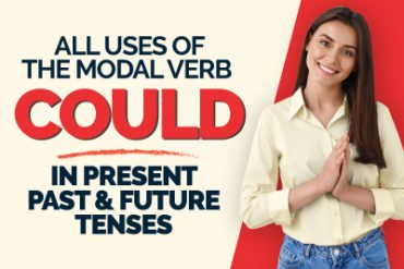All Uses Of 'Could' In Present, Past & Future Tenses | Modal Verbs | English Grammar Lesson
