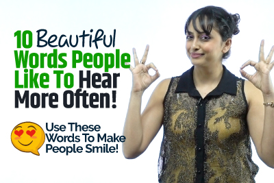 10 Beautiful English Words People Like To Hear More Often! Words That Bring Smile | Enrich Your Vocabulary