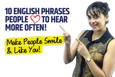 10 Beautiful English Phrases People Like To Hear More Often! | Speak English Naturally!