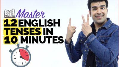 🔴 Master 12 English Tenses In 10 Minutes | Brush Up Your English Grammar Skills