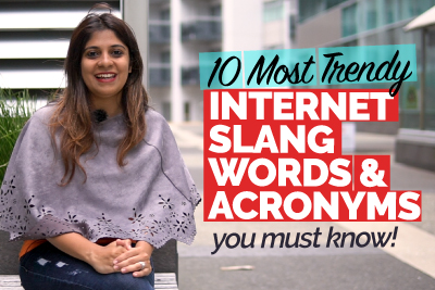 10 Most Trendy Internet Slang Words & Acronyms You Must Know | Learn English With Niharika