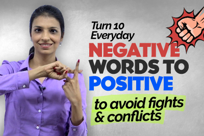 Learn Better Word Choice - Change Negative English Vocabulary To Positive | Describing Personality