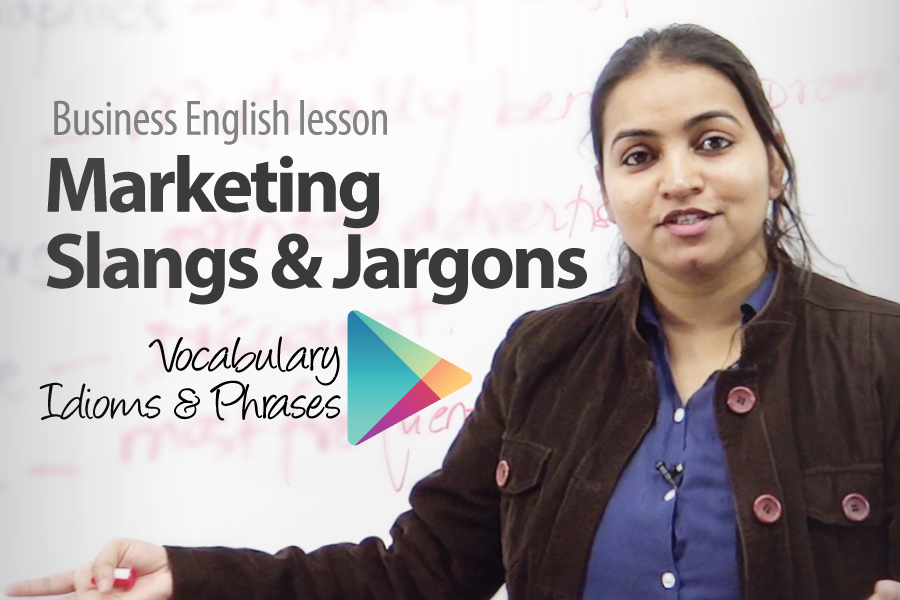 Marketing slangs and Jargons - ESL business English Lesson