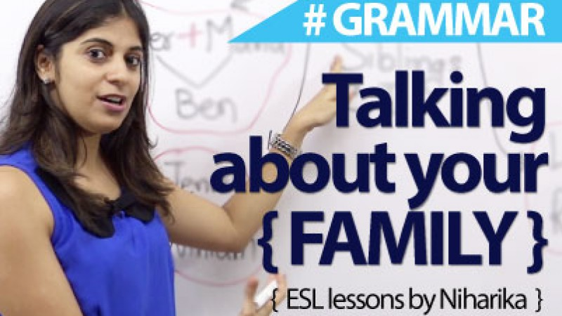 How to talk about your family?