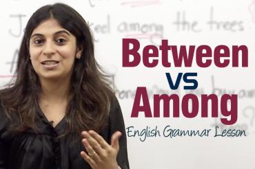 Between Vs Among – English Grammar Lesson ( IELTS & TOEFL)