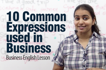 10 common expressions used in business English – ESL Lesson